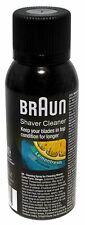GENUINE Braun Shaver Hygeine Cleaner Cleaning Spray Foils Cutters Shaver Head UK
