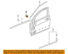 HONDA OEM 03-07 Accord Front Door-Upper Molding Clip 91563SDAA01