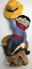 Cowboy Riding Horse Dog Costume Halloween Size Small