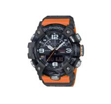 G-SHOCK MUDMASTER 55mm Carbon Case Orange Resin Strap Men's Watch - (GGB100-1A9)