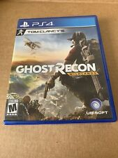 Tom Clancy's Ghost Recon: Wildlands (Sony PlayStation 4, 2017) Case Only No Game