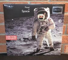 SOMETHING CORPORATE - Played In Space, Ltd 1st Press 2LP RED VINYL