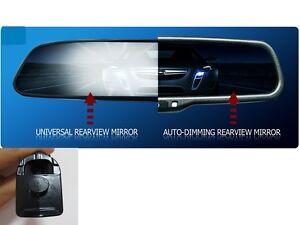 auto dimming interior rear view mirror,fit Honda Civic,Accord,Odyssey,Subaru,etc