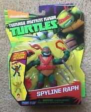 TMNT Nickelodeon Spyline Raph Action Figure New Playmates Raphael