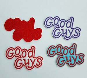 Good Guys Embroidered Patch Badge Iron on or sew on