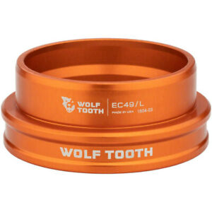 Wolf Tooth Components EC49/40 Lower Headset Orange