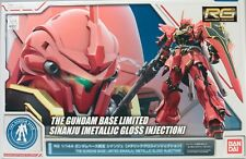 RG 1/144 Gundam Base Limited Sinanju [Metallic Gross Injection] Gunpla Bandai