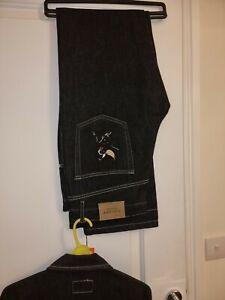 Iceberg history VINTAGE BRAND NEW Denim Jeans & Jacket RRP $395