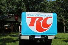 "HUGE NOS 76""  1960's RC ROYAL CROWN SODA POP BUBBLE METAL SIGN GAS OIL DRIVE IN"
