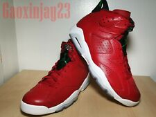 buy popular 30137 87c71 Nike Air Jordan 6 VI Retro Spizike 40 Acres Varsity Red Green 694091 625 Sz  12
