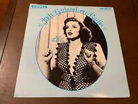 Judy Garland~On Radio~Live off air broadcasts~Jazz Female Pop Vocal LP~Bing Cros