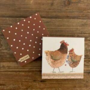 Chickens Mini Magnetic Notepad - Alex Clark