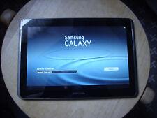 """10,1"""" SAMSUNG Galaxy Tab2 10.1 Tablet * silber / schwarz * DEFEKT * (A82)"""