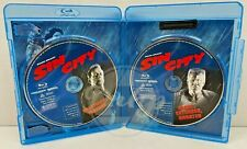 Sin City Unrated Theatrical 2 Disc Blu Ray Region Abc Nob
