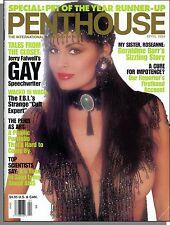 Penthouse - 1994, April - Rosanne's Sister Geralding Barr, The AIDS Big Lie