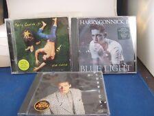 Harry Connick   lot of 3 cd's- star turtle- blue light- Harry Jr