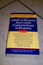 American diabetes association complete guide to diabetes by bruce zimmerman and