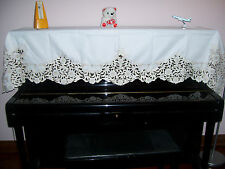"""New ELEGANT HIGH QUANLITY EMBROIDERY PIANO COVER  29""""X78"""" (74X200CM)"""