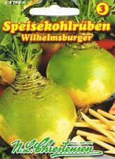 Kohlrüben 'Wilhelmsburger'  Steckrübe Rübe Samen 427800
