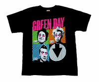 GREEN DAY - Faces - T SHIRT S-M-L-XL-2XL Brand New - Official T Shirt Punk Rock
