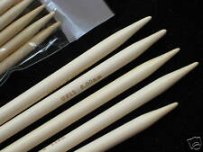 """6"""" bamboo double pointed DP knitting needles US 0-15"""