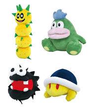 Little Buddy Set of 4 Super Mario Plush Doll Toy - Pokey/ Spike/ Fuzzy/ Buzzy
