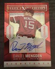 2014 Elite Extra Edition Daniel Mengden RC Auto 18/799 A's Ace