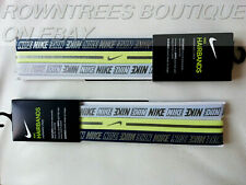 AUTHENTIC NIKE HAIRBANDS PACK OF 3 FREE P&P UNISEX