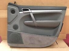 Porsche Cayenne 955 Right Hand Front Grey Door Card Interior Trim Panel
