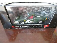 Vintage Brumm Ferrari 512 BB R212 1980 Lemans Metal Diecast car 1/43 Scale
