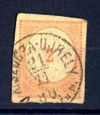 HUNGARY - UNGHERIA - 1874 - Intero postale. Frammento di cartolina posale.E1019