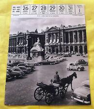 1959 PARIS, PLACE DE LA CONCORDE.