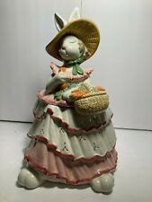 Fitz & Floyd Vintage Scarlet O Hare Cookie Jar New In Mint, Out Of Production