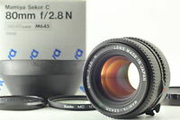 【ALMOST MINT in BOX】 MAMIYA sekkor C 80mm f/2.8 N M645 645 1000S From JAPAN