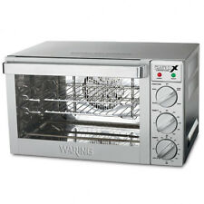 Waring WCO250X wco250 Commercial Quarter Size Convection Oven 120V 1700W