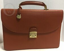 *Dooney & Bourke*N02*British Tan *Brief Case*Briefcase*16313C*
