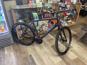 2019 Kona Libre Gravel Bike Upgraded 650 Oil Slick Full Carbon 2x11 Ultegra 54cm