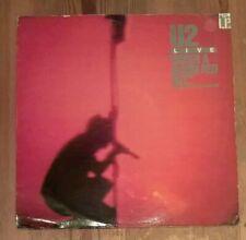 U2 – Under A Blood Red Sky (Live) Vinyl LP Mini-Album 33rpm 1983 Island IMA3