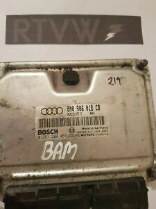 AUDI TT Mk1 8N 1.8T BAM BOSCH ECU 8N0906018CB TUNED REMAPPED 225BHP STG 1