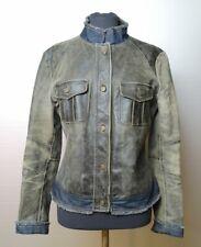 Patrizia Pepe   giacca giubbino pelle donna Tg. 44   woman's leather jacket