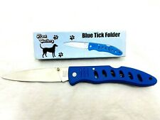 Frost Cutlery Pocket Knife Blue Tick Vintage Folding Blade 15-334BL