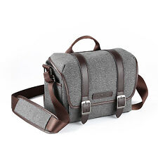 K&F Concept DSLR SLR Camera Bag Shoulderbag Case Waterproof W/ Straps for Canon