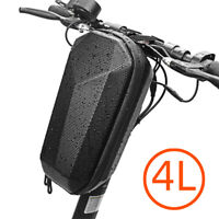 4L Hard Shell Storage Bag Box Universal for Bicycle Electric Scooter Waterproof
