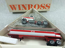 AGA GAS TRUCK WINROSS Diecast Tractor Trailer 1:64 ^EEE