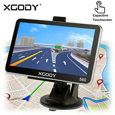 XGODY 5'' Truck Car GPS Navigator 8GB Navigation System Sat Nav w/ POIs Speedcam