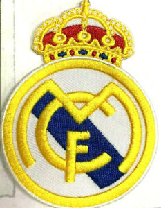SPORTS LOGO-Real Madrid Embroidered Iron/ Sew-on Patch Badge(PREMIUM QUALITY)
