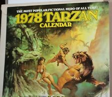 The 1978 Tarzan Calendar, Ballentine ~ w/ Original Box ~ WH