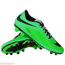 Nike Hypervenom Phade FG Men's Soccer Cleats Size 9.5 US Green Lime Futbol Shoes