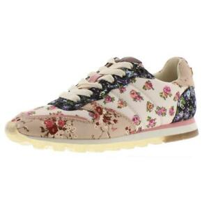 Coach Womens Mixed Media Ivory Fashion Sneakers Shoes 9 Medium (B,M) BHFO 4729