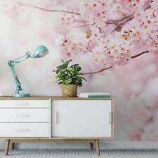 Bedroom Wall mural photo wallpaper 151x102inch PREMIUM Delicate Pink Flowers